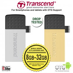Transcend JetFlash 380S / 380G - Mobile (OTG) | 8GB-16GB