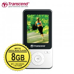 Transcend T-Sonic MP710 MP4 Digital Music Player - 8GB