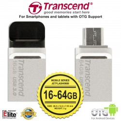 Transcend JetFlash 880S - Mobile (OTG) 16GB~64GB