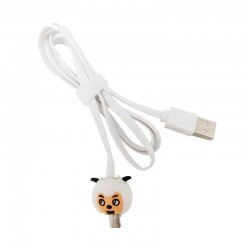 Kabel Data Micro USB LED Karakter - Sheep