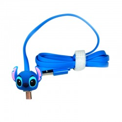 Kabel Data Micro USB LED Karakter - Stitch