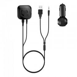 IBT-03B Bluetooth Hands-free Car Kit with Aux Input - Black