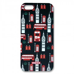 Vod'ex Hard Back Case Cover for iPhone 5/5S – Big Ben Tower & English City