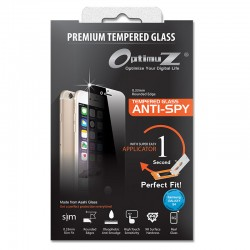 OptimuZ Tempered Glass Anti Spy with Applicator - Samsung S4