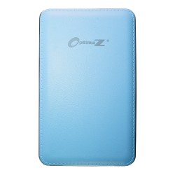 OptimuZ Power Bank Leather 10000mAh - Blue