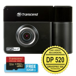 Transcend DrivePro 520 - Car Video Recorders (CVR)