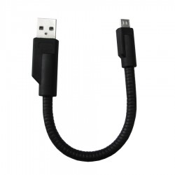 Kabel Micro USB SP Metal - Hitam