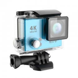 Action Camera 4K Ultra HD 1080p Waterproof Wifi 2 inch Single Screen