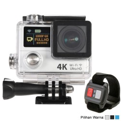 Action Camera 4K Ultra HD 1080p WiFi Waterproof - Dual Screen + Remote