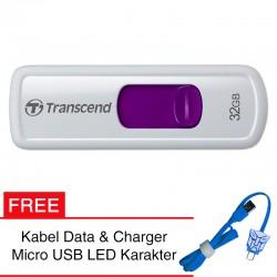 Transcend Flashdisk JetFlash 530 - 32GB FREE Kabel Micro USB Boneka