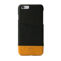 Alto Leather Case for iPhone 6 - Metro - Black / Light Brown
