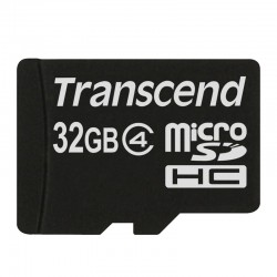 Transcend Memory Card Micro SDHC Class 4 - 32GB Tanpa SD Adapter