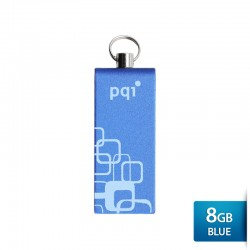 Pqi i813L Flashdisk USB 2.0 COB Technology - 8GB Blue