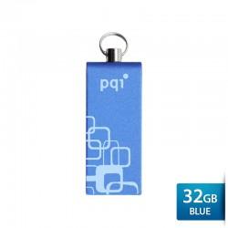 Pqi i813L Flashdisk USB 2.0 COB Technology - 32GB Blue