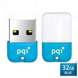 Pqi U602L Flashdisk USB 2.0 COB Shockproof & Waterproof - 32GB Blue