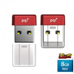 Pqi U603V Flashdisk USB 3.0 COB Pen Drive - 8GB Red
