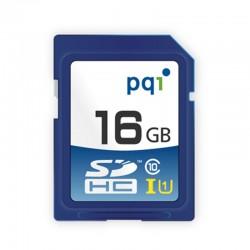 PQI SDHC UHS-1 Class 10 Kartu Memori Kamera - 16GB