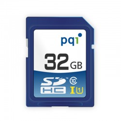 PQI SDHC UHS-1 Class 10 Kartu Memori Kamera - 32GB