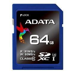 ADATA SDXC UHS-1 U3 Class 10 Premier Pro - 64GB