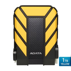 ADATA H710 Pro - 1TB Kuning- Hard Disk Eksternal USB3.1 Anti-Shock & Waterprooff