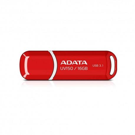ADATA DashDrives UV150 - Flashdisk USB 3.1 SuperSpeed - 16GB Merah