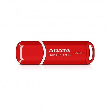 ADATA DashDrives UV150 - Flashdisk USB 3.1 SuperSpeed - 32GB Merah