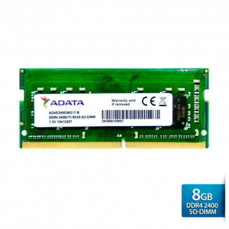 ADATA Premier DDR4 2400 SO-DIMM PC4-19200 Memory - 8GB