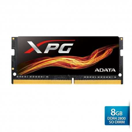 ADATA XPG Flame DDR4 OC SO-DIMM 2800 Single Tray – 8GB Hitam