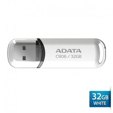 ADATA C906 - Flashdisk USB2.0 Classic Series – 32GB Putih
