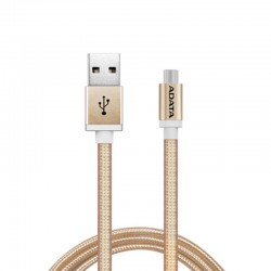 ADATA Kabel Data & Charge Micro USB Aluminium 100cm - Gold