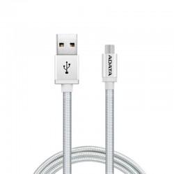 ADATA Kabel Data & Charge Micro USB Aluminium 100cm - Silver