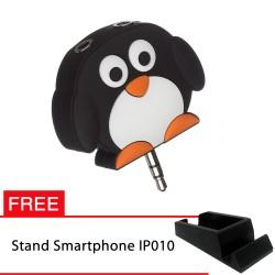 PROMO! My Doodles Splitter Penguin FREE Stand IP010 untuk Smartphone