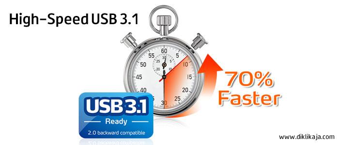 High-Speed USB3.1