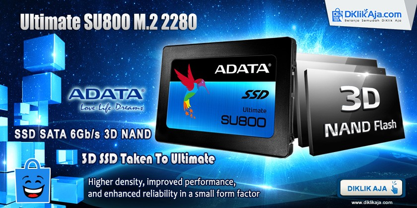 Review ADATA SSD Ultimate SU800 3D NAND M.2 2280