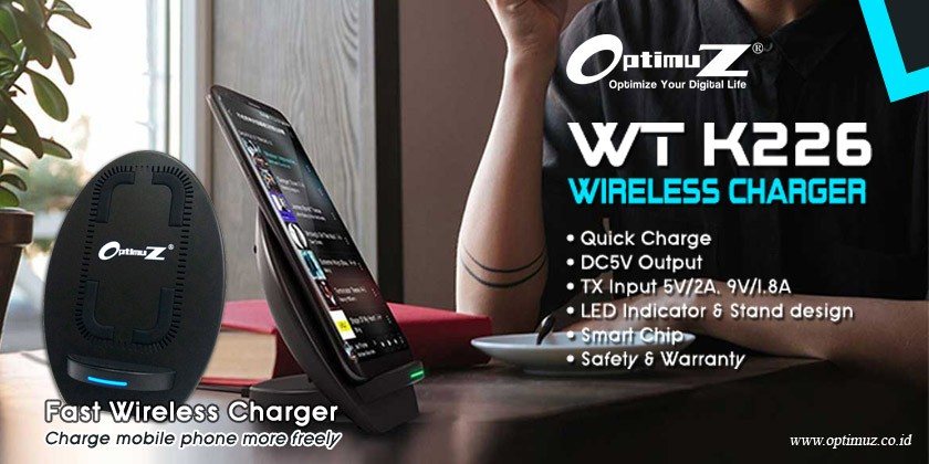 Review OptimuZ Wireless Charger WT K226